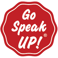 Go Speak UP! logo